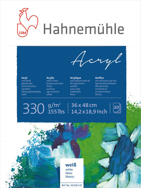 Hahnemuhle Acrylic Paint Board 330gsm 36X48cm