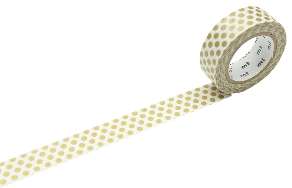 MT Tape Dot Gold 2