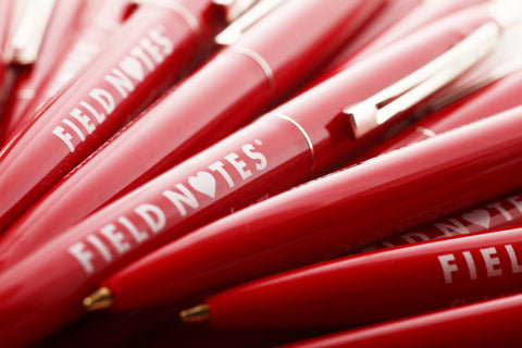 Field Notes Red Clic Pen Set of 6