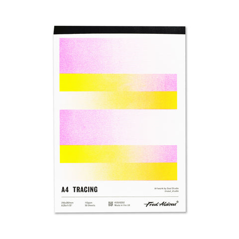 Fred Aldous Tracing Pad A4 112gsm