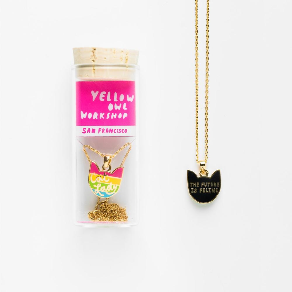 YOW Pendant Cat Lady