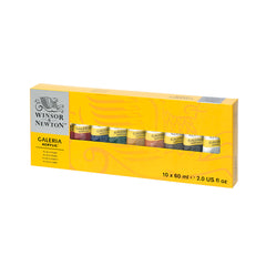 W&N - Galeria 10 x 60ml Tube Set