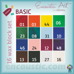 Encaustic Art - Basic Selection of Wax Blocks