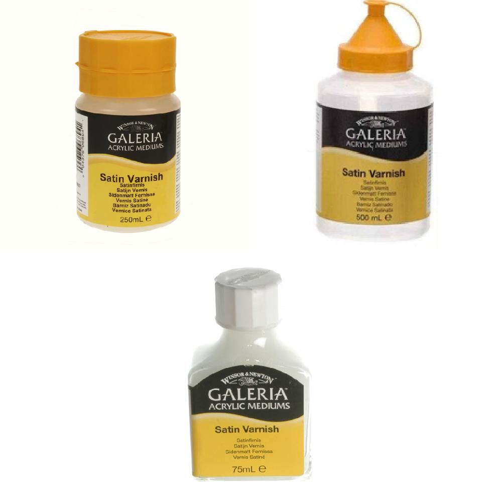 W&N - Galeria Satin Varnish