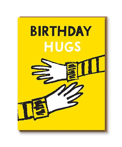 Birthday Hugs card