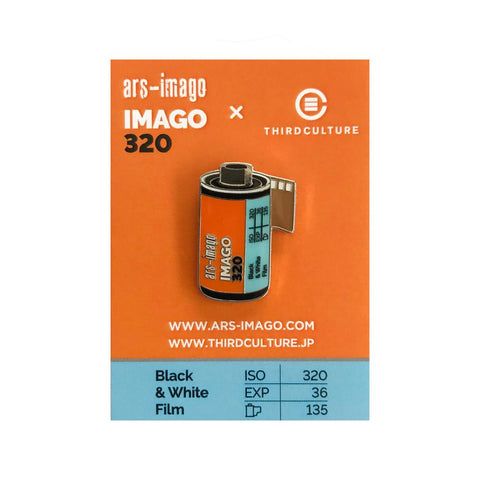 Ars-Imago IMAGO 320 35mm Film Pin Badge