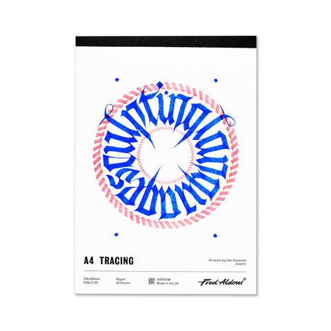 Fred Aldous Tracing Pad A4 60gsm