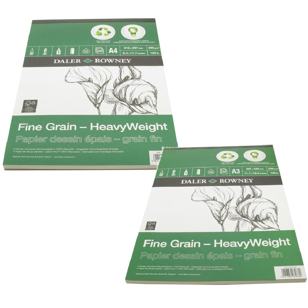 Daler Eco Pad Fine Grain Heavy Weight Pad 200g