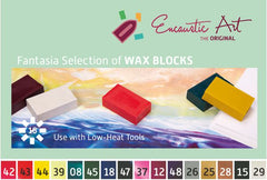 Encaustic Art - Fantasia Selection of Wax Blocks