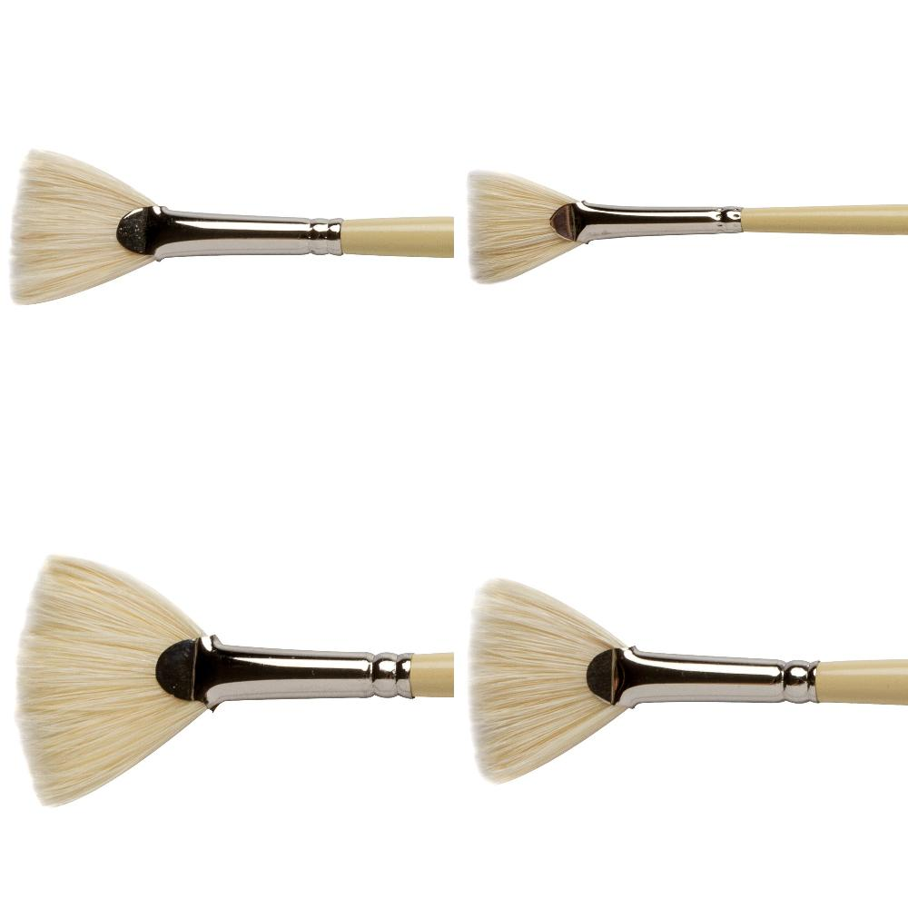 Pro Arte - Series E - Fan Brushes- Hog