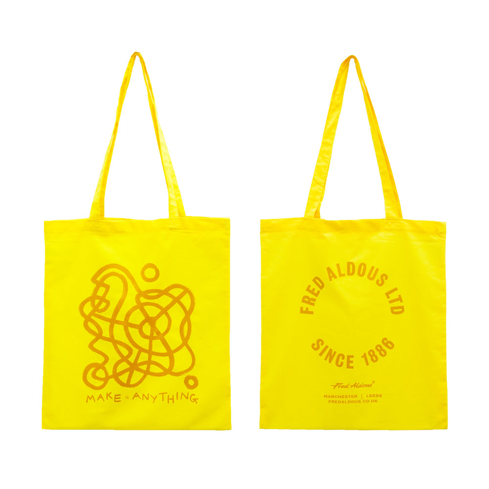 Fred Aldous Tote Bag -  Jaydon Rowbottom - Yellow
