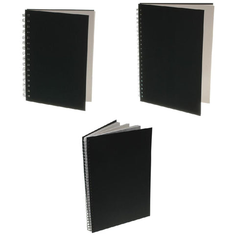 Daler Ebony Spiral Sketch Book - Portrait