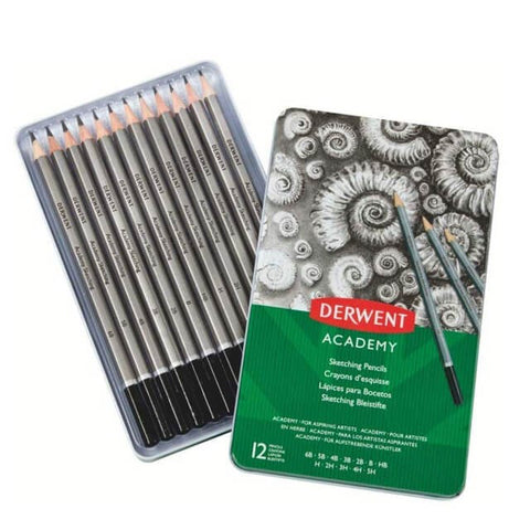 Derwent Academy Set - Sketch Tin