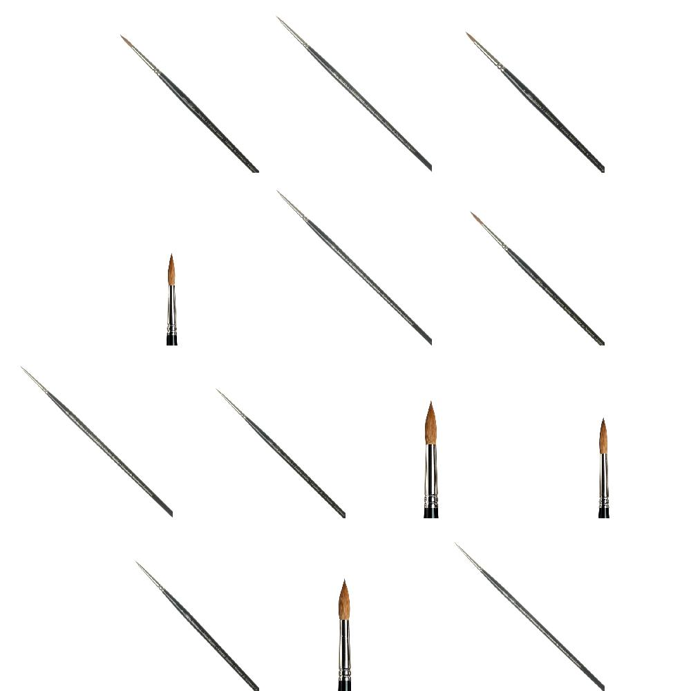 W&N Kolinsky Sable Brushes