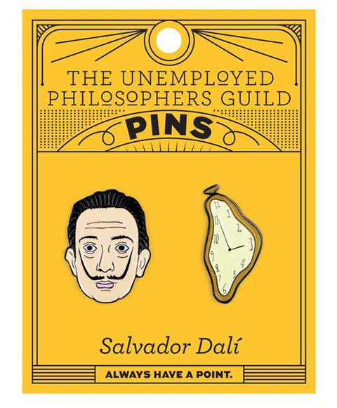 Salvador Dali Pin Badges