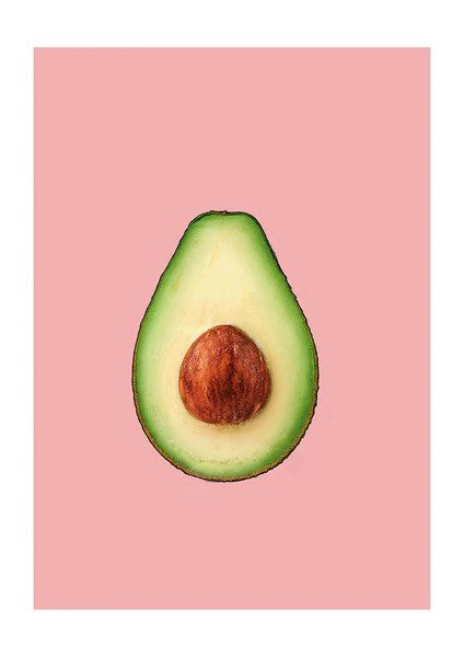 Avocado Greetings Card