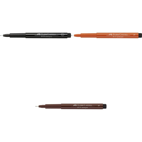 India Ink PITT Artist Pens - Superfine