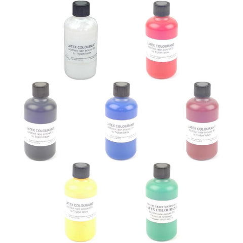 Latex Colourants