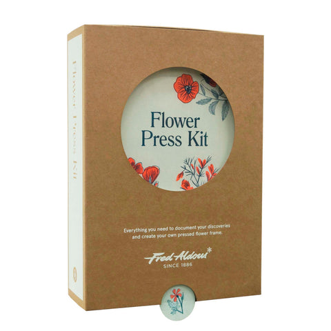 Flower Press Angled View Packaging