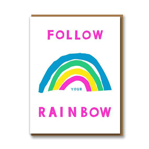 Follow Your Rainbow Card