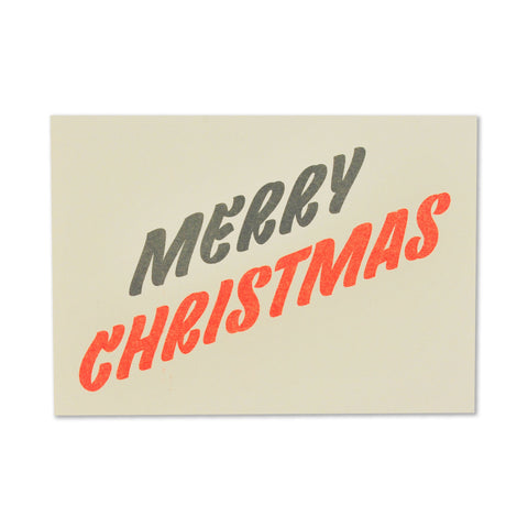 Fred Aldous Christmas Card Vellum White