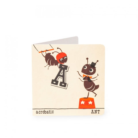 A-Z Card Acrobatic Ant