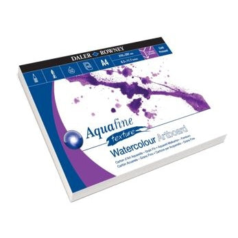 Aquafine Watercolour Artboard Pad A4