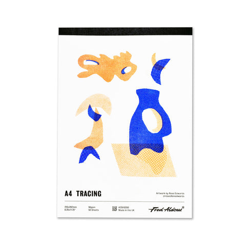 Fred Aldous Tracing Pad A4 90gsm