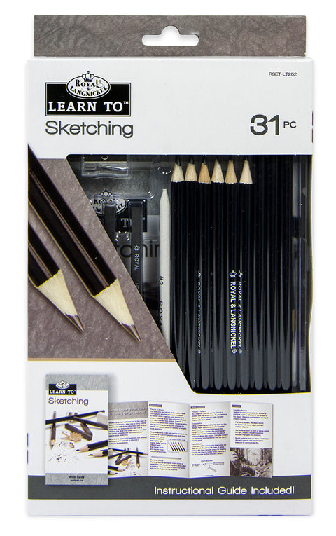 Learn to Sketch 31pc Set