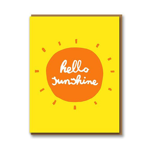 Egg Press Hello Sunshine Card