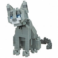 Nanoblock Russian Blue Cat