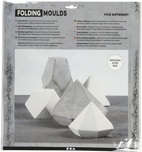 Folding Moulds - Geometric Shapes