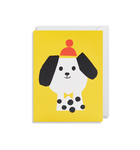 Smiling Dog Card