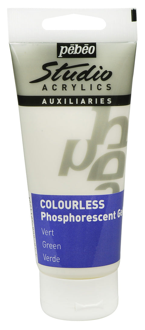 Studio Acrylics - Phosphorescent Gel 100ml