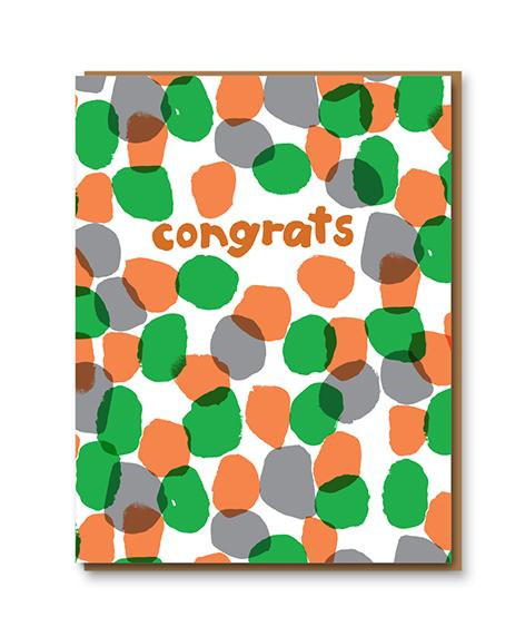 Congrats Dots Card