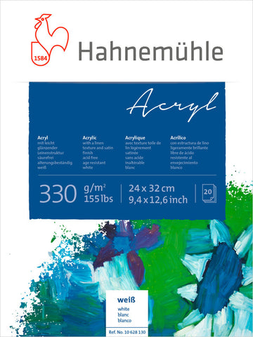 Hahnemuhle Acrylic Paint Board 330gsm 24X32cm