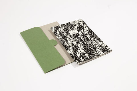 Avocado Pattern Notebook