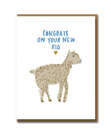 Congrats New Kid Card