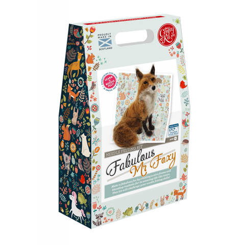 Fabulous Foxy Needle Felting Kit