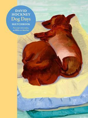 David Hockney Dog Days - Sketchbook