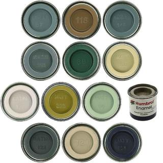 Humbrol Enamel (Nos 1 to 100) - 14ml