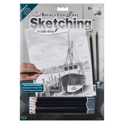 Sketching Made Easy Fishing Boats