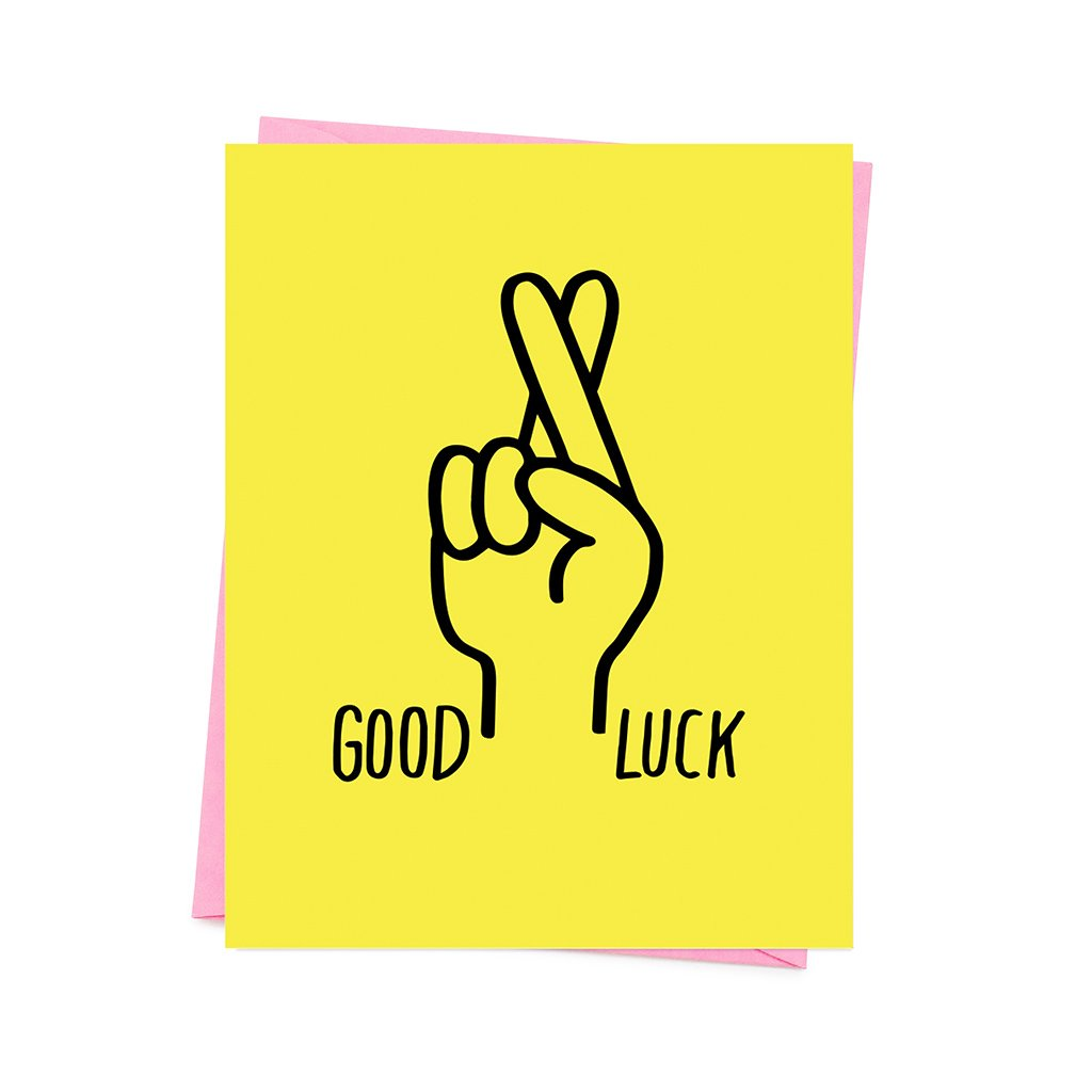 Good Luck Fingers Crossed