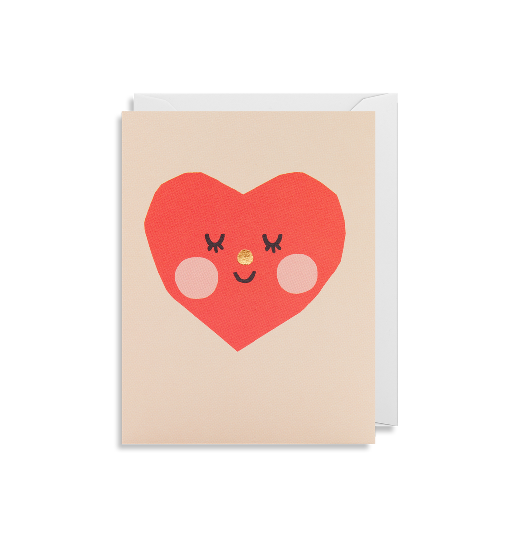 Smiling Heart Card