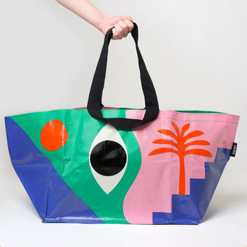 HERD tote bag 'The Eye' Large