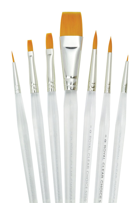 Clear Choice 7pc Brush Set