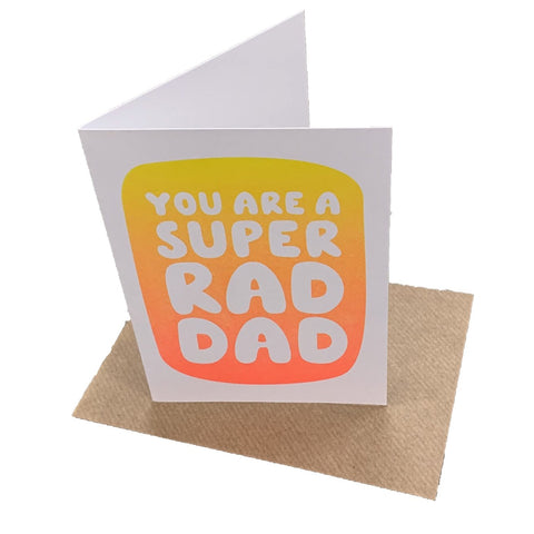 Rad Dad - Fred Aldous Card
