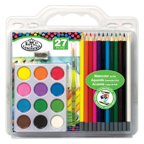 Royal Langnickel Water Colour Art Set 27 Pc