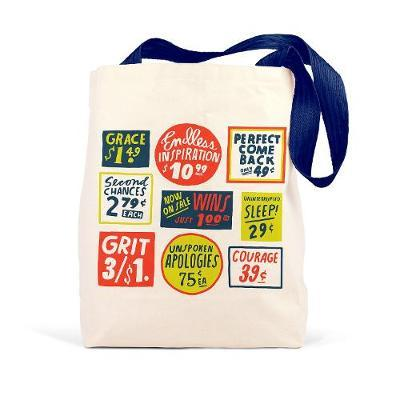 Emily McDowell & Friends Store Signs Tote
