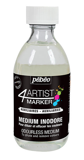 4Artist Marker - Odourless Medium